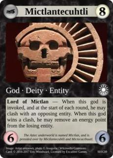 Card image for Mictlantecuhtli